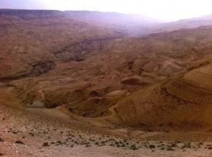 Kings Highway Jordanien Muji Dam