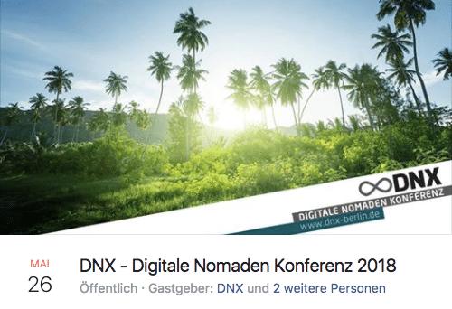 Digitale Nomaden Konferenz 2018